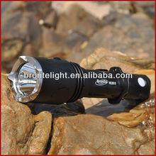 Bronte RC25S 700Lm CREE U2 high power cree led flashlight Gun Rifle Shotgun flashlight Mount Hunting Light
