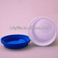Plastic Water Cup With Lid Double Insulated Cup Space Bottle Sealed Bottle