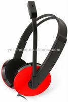 2013 most popular headphones suit for MSN/Skype/Yahoo Messenger/QQ PC headphone