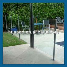 glass railings in porch,balustrade glass railing,outdoor aluminum railing
