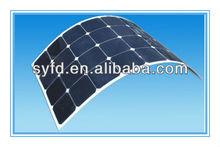 100W Thin Film Solar Flexible Panels Monocrystalline