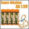 Super power alkaline Batteries AA 1.5V LR6/Dry Battery/Super Power Battery/PKCELL