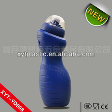 Kids bicycle water bottle collapsible folding plastic bottle 600ml volume