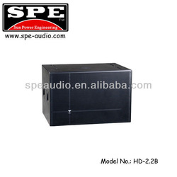 HD-2.2B Extreme power dealing subwoofer dual 12 inch 4000W total power subwoofer