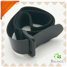 Non-slip stay tight elastic velcro tape /loop straps