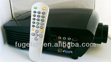 LED LCD projector with HDMI USB native 640*480, professional home cinema projector