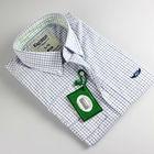 2013 newest fashion check long sleeve men shirts in mumbai
