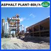 80t/h Mini Asphalt Mixing Equipment LB1000
