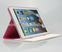 Standable PU leather cover for ipad holder in bed