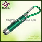 cheap uv light/ led light/ Laser pointer with carabiner