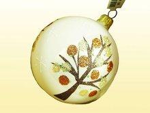 Handmade - Glas Christmas balls tree