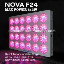 Evergrow LED lighting factory NOVA F24 700 watt led grow light 12v dc