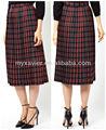 Hermoso de moda los modelos de falda larga( s7045)