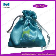 Drawstring brocade bag rectangle for wholesale