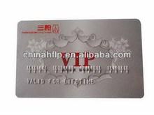 Personalized fashion laser engraving pvc card
