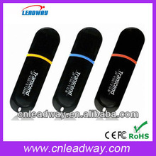 Factory price customized black usb flash memory with keyhole best promotional gift