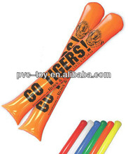 factory promotional inflatable pvc cheer sticks