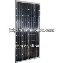 130W photovoltaic solar panels