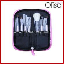 Olisa 7 pcs cosmetic powder/ blush brush
