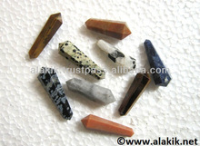 Assorted Gemstone Double Terminated Pencil Points : Wholesale D point crystals