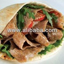 Frozen Halal Doner Kebab,Frozen Cooked Hand Sliced Doner Meat,