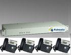AskoziaPBX 2.2 Hardware 1.2 Rackmount Bundle Offer(4 Ip Phones with IP PBX)