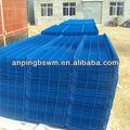 suministro de vinilo revestido de jardín de metal panel de la cerca