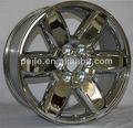 Suv/caminhão leve/jeep roda da liga novo design de prata