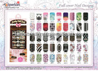 NAIL ART STICKER FULLCOVER