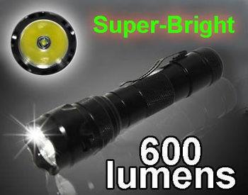 Ultrafire CREE LED Flashlight High Power CREE R5 LED 600 Lumens 5-Modes