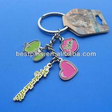 Custom metal key tags metal key holder