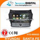 "HYUNDAI IX45 7"" Car Audio Support Blue tooth Phonebook"