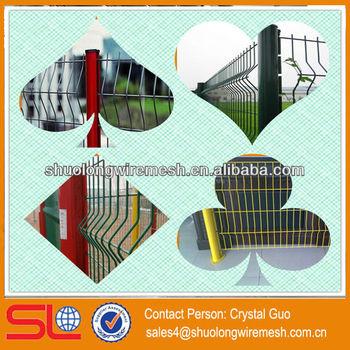 Hebei Factory Lowest Price pvc lattice fence,pvc steel net fence