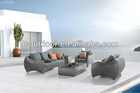 Nice design rattan sofa for outdoor and indoor living