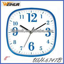 Plastic quartz wall clock/designer kitchen clock/fashion clocks