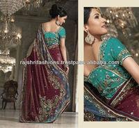 Kundan work Designer georgette sarees