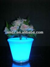 Modern design led vase,plastic flower pot trays