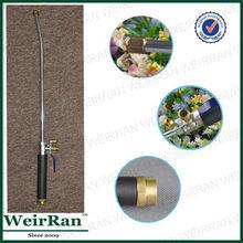 (81576) Multi-purposes metal long industrial high pressure power brass tip garden nonslip car wash water spray gun