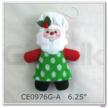 santa snowman gingerbread christmas ornaments