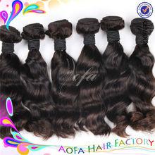 Wholesale 5a grade tangle free no shed futura hair weaving