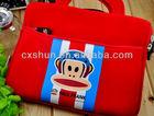 Cartoon design leather handbag for ipad mini