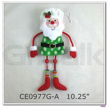 santa snowman gingerbread christmas tree ornaments decoration