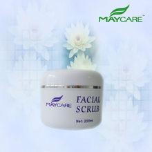 WHITENING & BRIGHTENING FACIAL SCRUB natural organic cosmetics best face wash facial foam cleanser