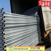 Metal construction hoarding fence for secure construction sites