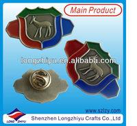 2013 Newest Lovely Pig Badge,Pig Lapel Pin,Metal Pig Badges For Kids