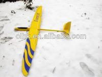 Composite rc sailplane glider E-Tomcat electric balsa model airplane kits