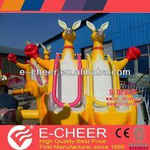 2013 new products amusement park kiddie rides jumping kangaroo