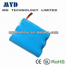 size D 4000 mah 1.2V nickel cadmium battery for emergency power system