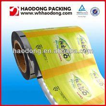 Food grade printed plastic scrap film in roll