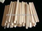 Natural wooden white ice cream sticks/spoon in bulk